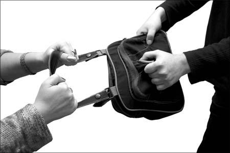 В Северске задержаны грабители