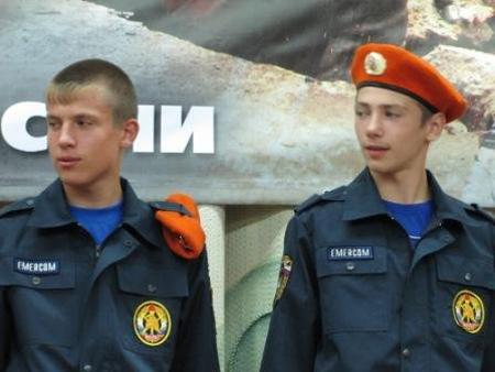 """Северчане на I Всероссийском лагере """"Юный пожарный"""""""