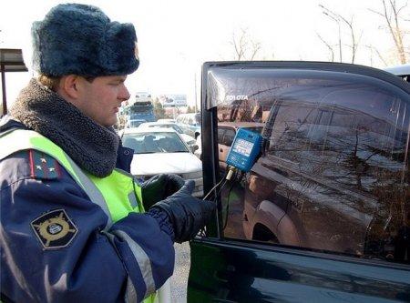 Штрафы за тонировку стекол для автомобилистов увеличились в пять раз