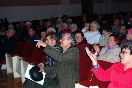 Северск. Пенсионеры объединяются