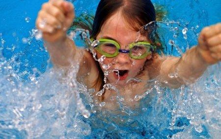 Результаты соревнований по плаванию