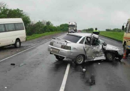 Утром в ДТП на трассе Томск-ТНХК погибли 4 человека