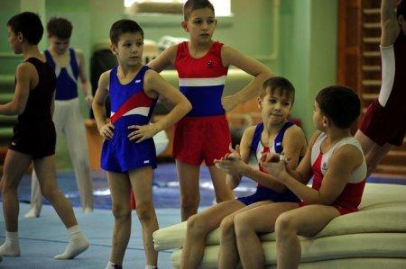 Знакомство мэра с детским спортом