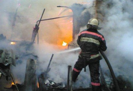 За неделю произошло два пожара