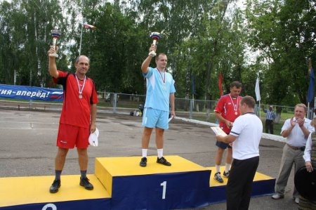 Северчанин Владимир Синьков стал чемпионом России по городошному спорту