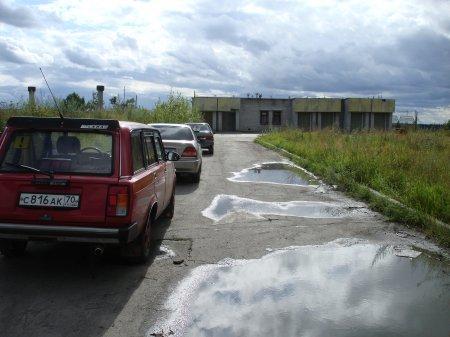 Он-лайн приемная Думы. Зачем установлен шлагбаум, который препятствует подъезду к КПП на ул. Ленинградской?