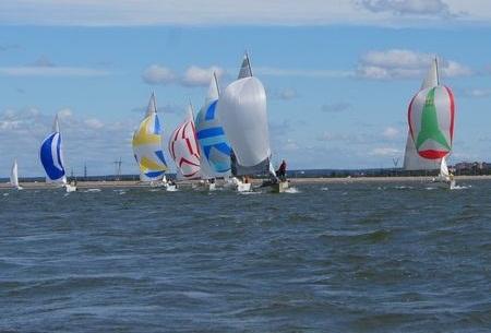 Яхтсмены завершили сезон парусных гонок