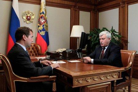 Медведев выбрал Петербургу Полтавченко