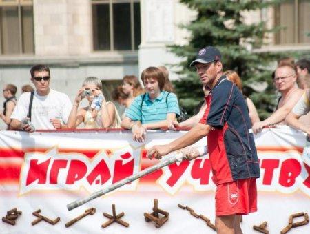 Мэр лично поздравил северских городошников в Москве