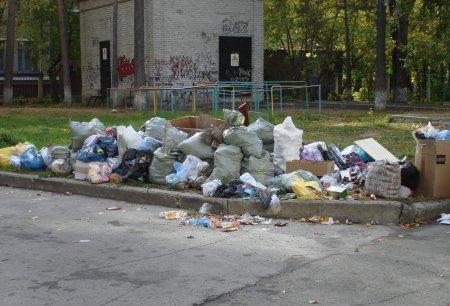 Он-лайн приемная администрации. Вывоз мусора