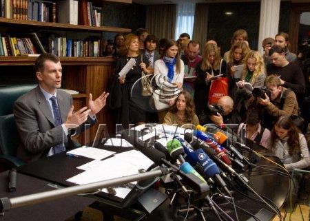 Прохоров выставил счет 800 миллионов заговорщикам