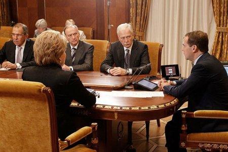 Оперативное совещание с членами Совета Безопасности
