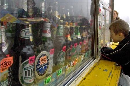 В павильоне «Ассоль» несовершеннолетним продают алкоголь