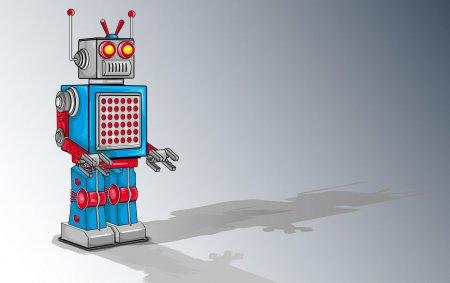 Робот-налоговик поднимает настроение посетителям налоговой