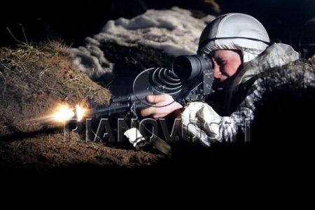 В Чечне обнаружено логово боевиков