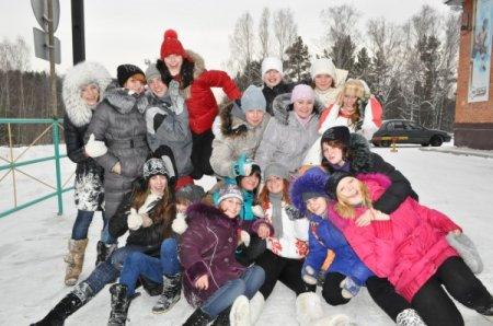 Новый год в лагере новое поколение