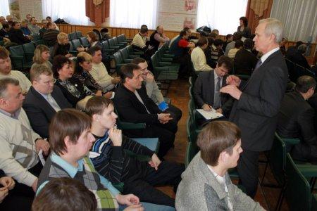 Стратегия развития Росатома и Топливной компании «ТВЭЛ» представлена трудовому коллективу СХК