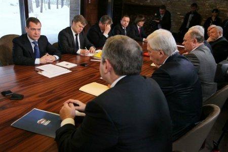Встреча с руководителями политических партий