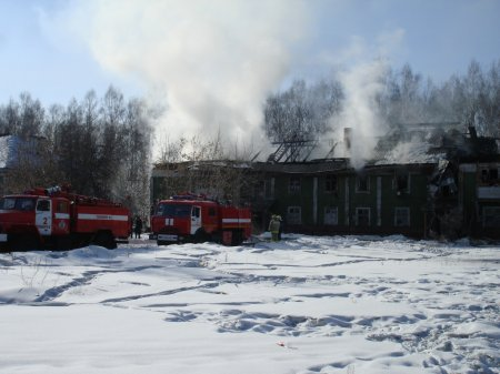При пожаре погиб 43-летний мужчина