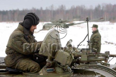 Стрельбы тяжелой артиллерии на Лужском полигоне