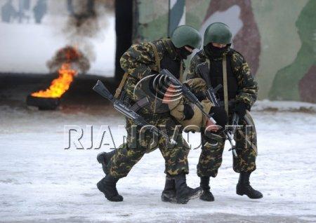 Учения антитеррористических подразделений ВВ МВД РФ