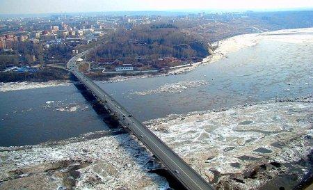 Ледоход в черте Томска ожидается в течение ближайших суток