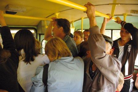 За попу в автобусе фото 115-791