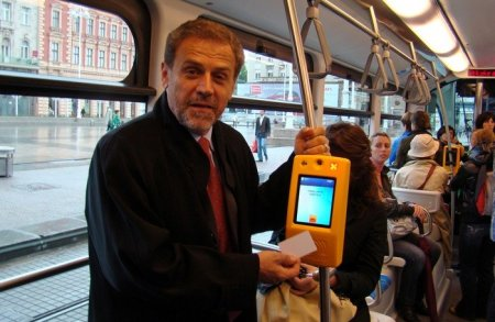 С 1 июня оплата за проезд в автобусах будет осуществляться по специальной электронной карте
