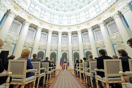 Выступление на церемонии вручения государственных наград