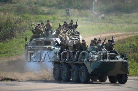 """Международные оперативно-тактические учения """"Гром-2012"""""""