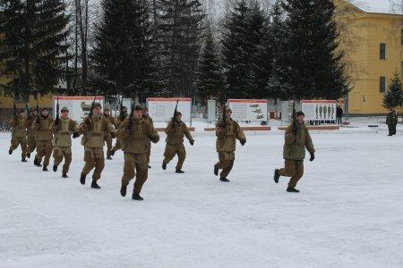 День призывника в Северской дивизии