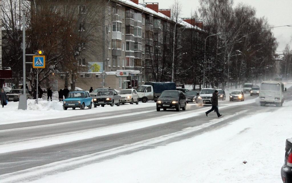 Пешеход, на переход!