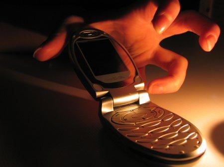 Cотовый телефон может стать причиной преступления