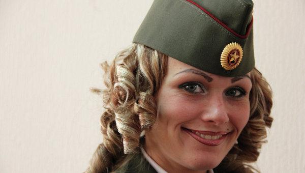 Прапорщик Анна из Северска: об армии, сыне и Дне защитника Отечества