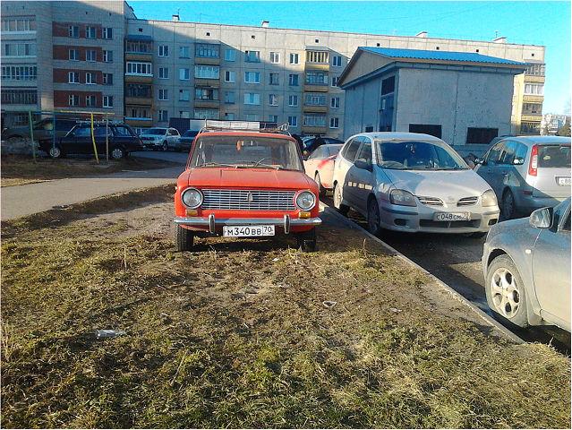 Не хватило места на парковке
