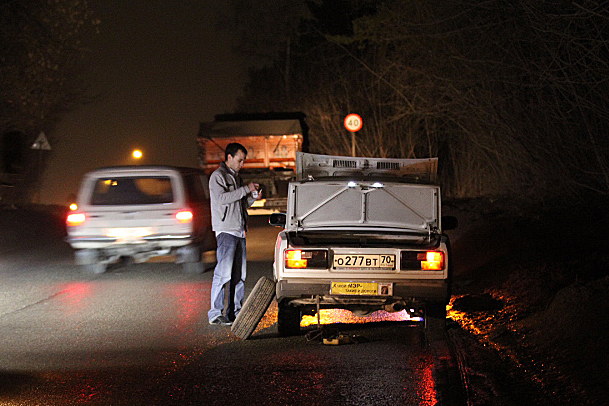 """Водители грозятся провести акцию """"Какой мэр - такие и дороги"""" в Северске"""