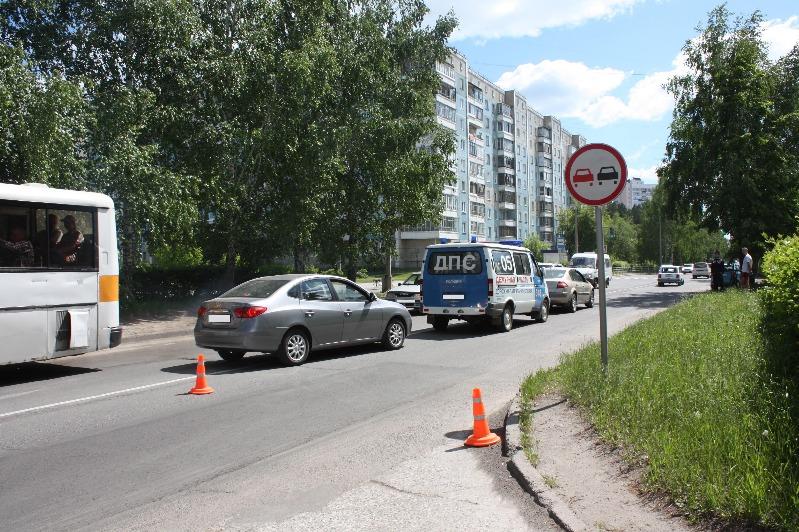 Водитель сбил пешехода, не заметив его