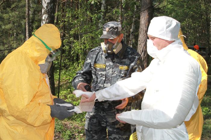 На СХК состоялись учения по ликвидации гипотетической аварии