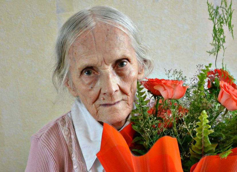 31.07.2013 года моей прабабушке исполнилось 90 лет )