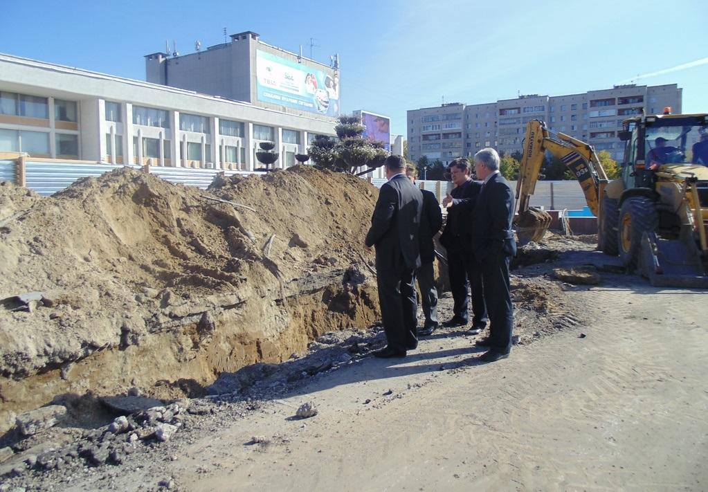 Новый фонтан за 5 миллионов будет реконструирован к 30 октября