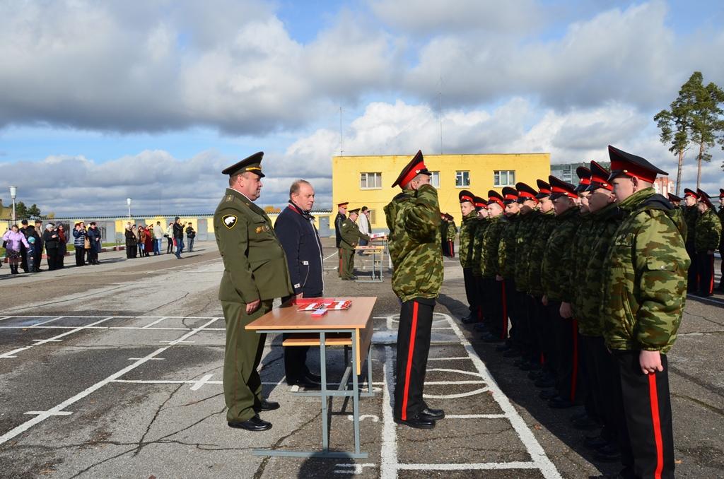 Воспитанники Северского кадетского корпуса приняли клятву