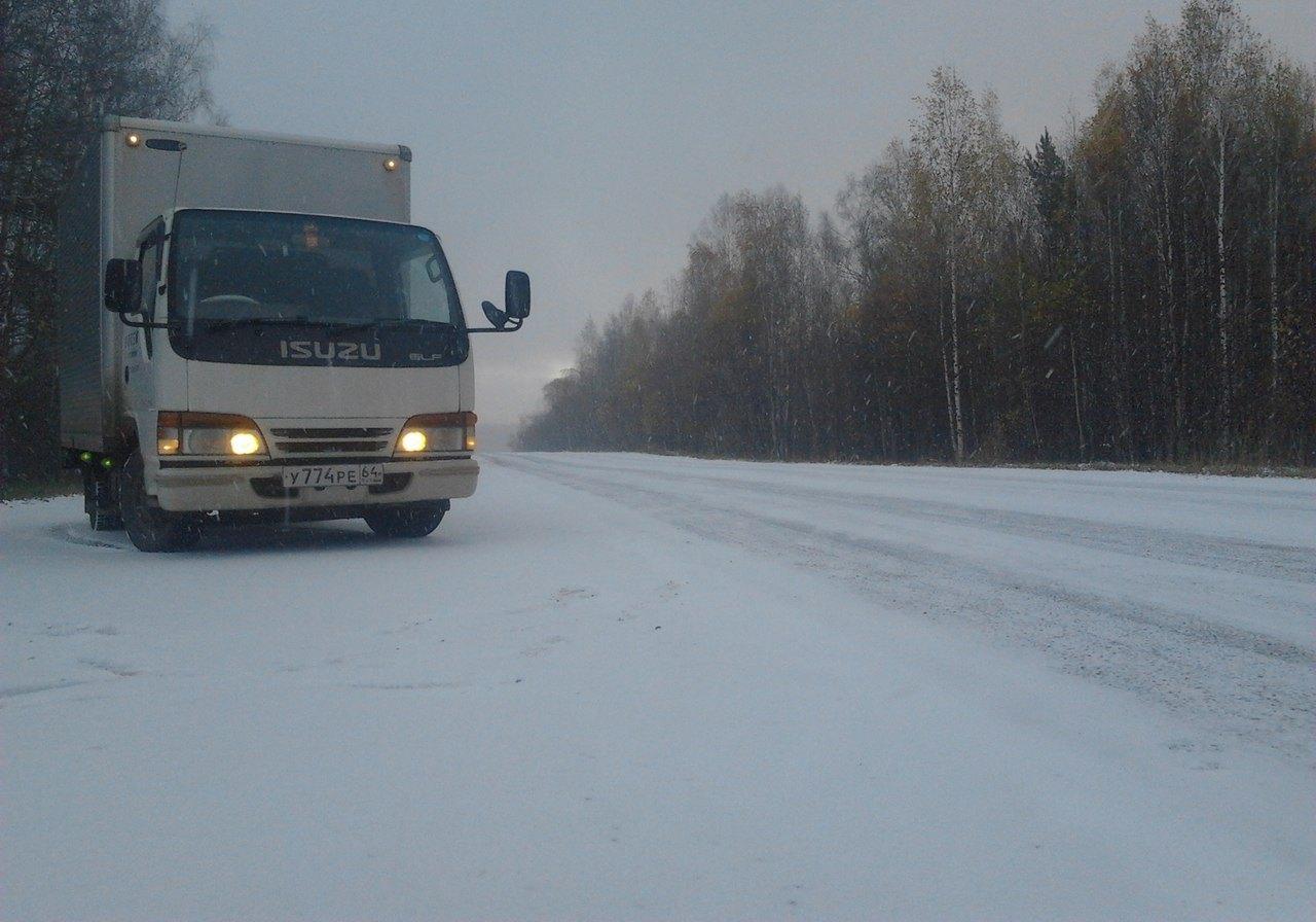 В Самуськах зима