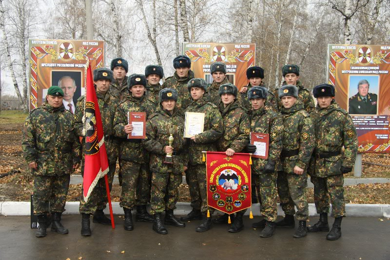 Северские военные сдали зачеты лучше всех