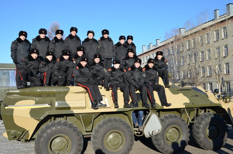 Северские кадеты приняли участие в Дне призывника