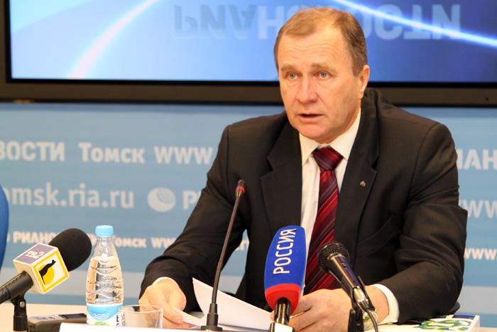 Генеральный директор СХК Сергей Точилин представил журналистам годовой отчет предприятия за 2012 год