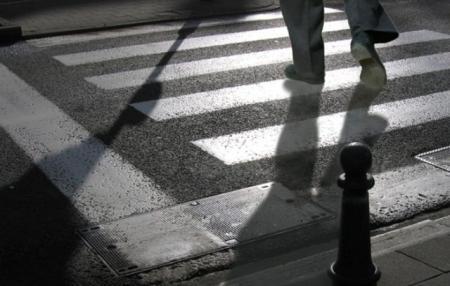 """В очередной раз сбит пешеход на """"зебре"""""""