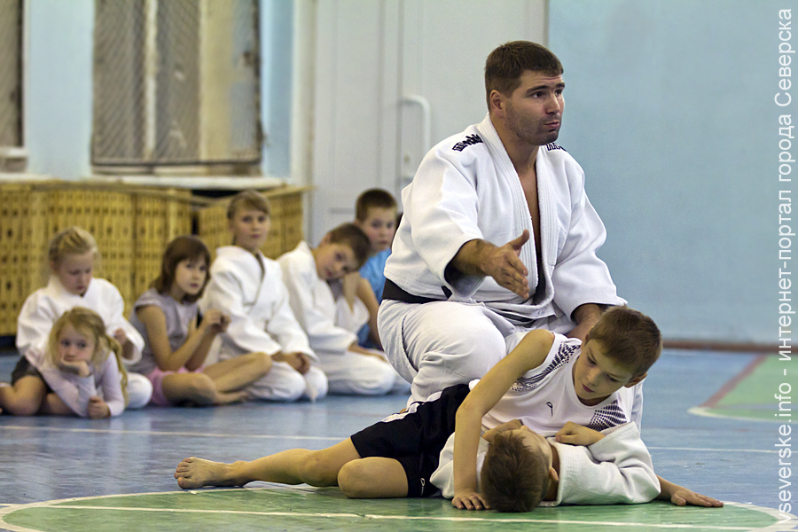 """Джиу-джитсу для детей. Открытый урок Алексея Соколова """"30 дней с начала занятий"""""""