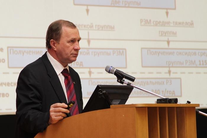 Предложено ввести СХК в состав томского редкоземельного кластера