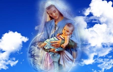 Ты мой Ангел-хранитель, мама!