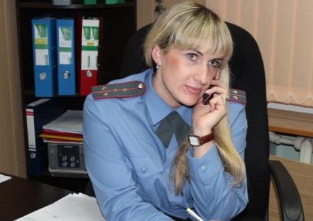 Капитан полиции Наталья Тонких свободное время посвящает детям